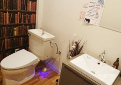 トイレなどの設備もとても綺麗